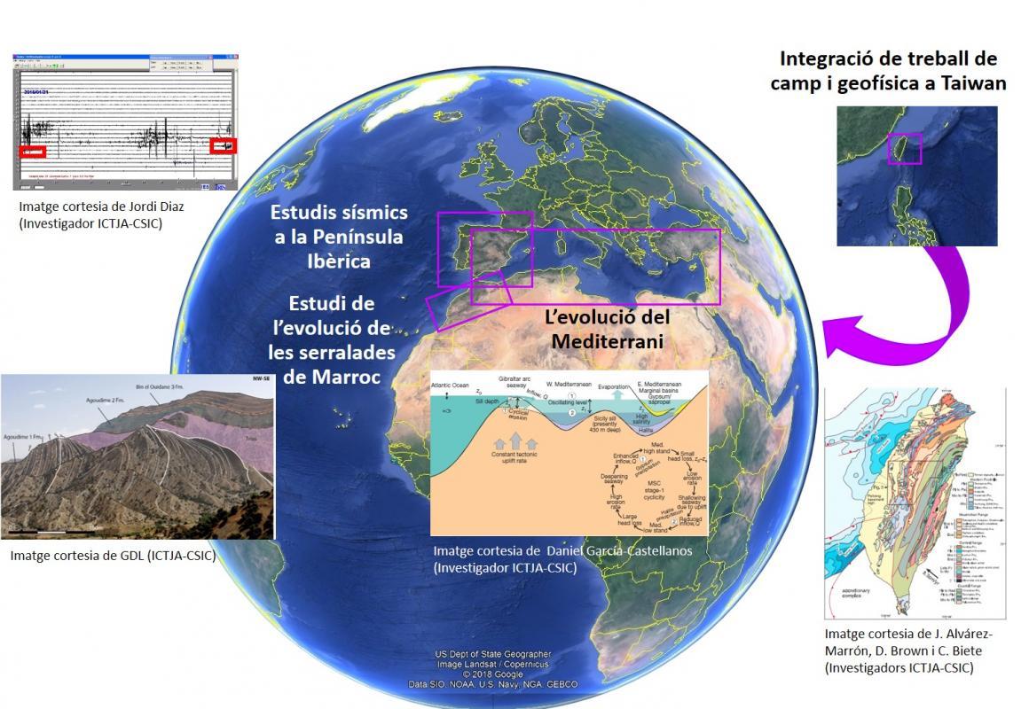 Estructura y dinámica de la Tierra: desvelando las incógnitas del ...
